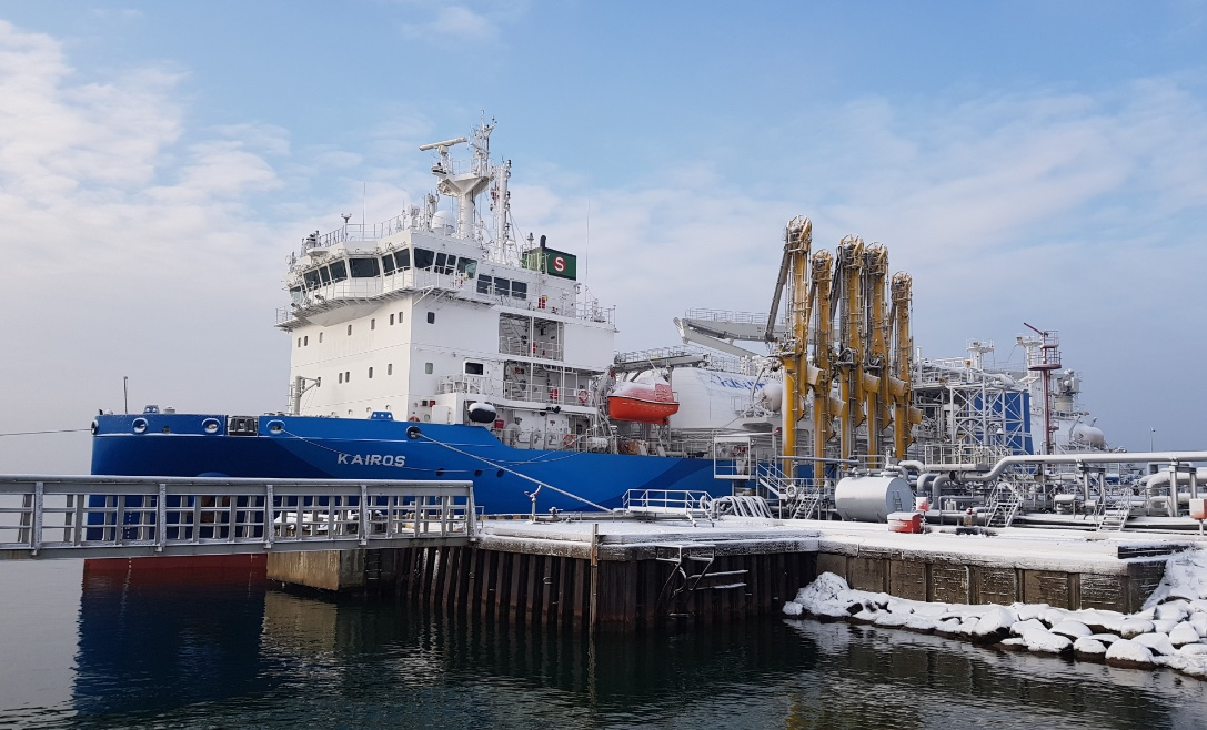 The fifth delivery of LNG for PGNiG to Klaipeda. One year of use of the reloading station in Lithuania