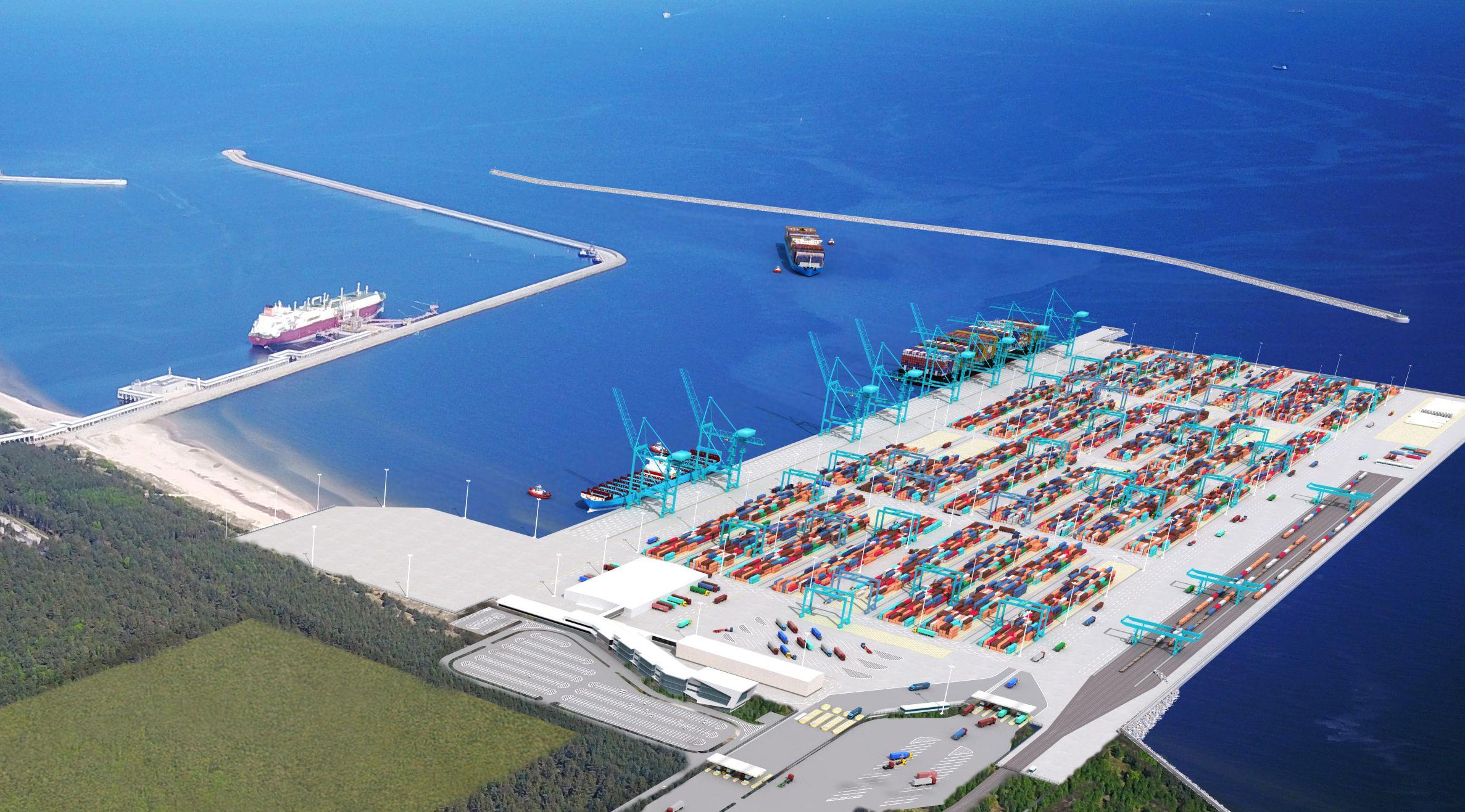 Invitation to participate in the procedure - deepwater container terminal in Świnoujście