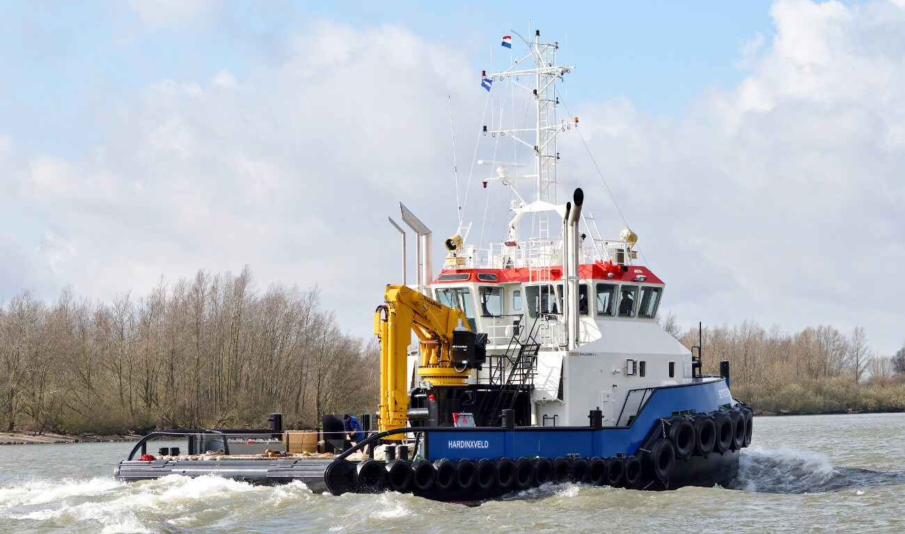 Safe Shipyard is building a Shoalbuster vessel for Fairplay Towage together with Damen