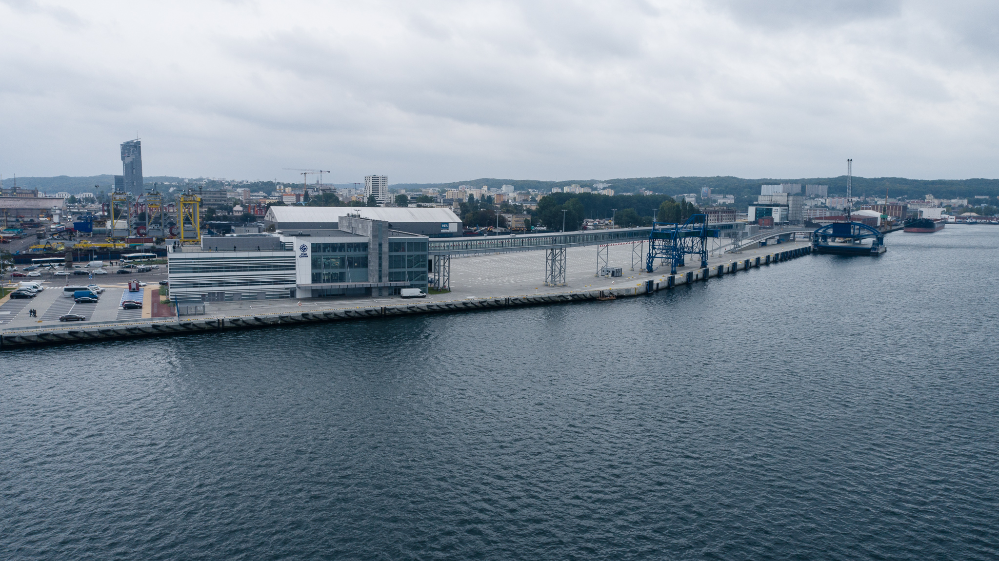 Completion of the construction of the Public Ferry Terminal in the Port of Gdynia [VIDEO, PHOTOS]