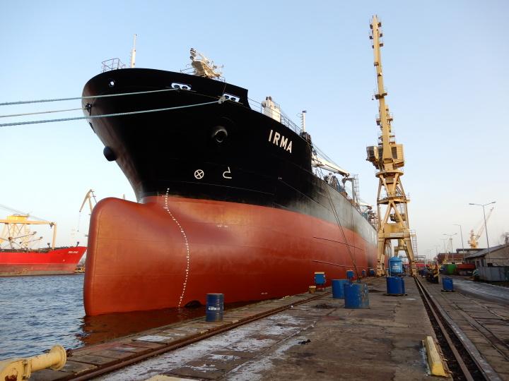 January – busy time for MSR Gryfia Shipyard