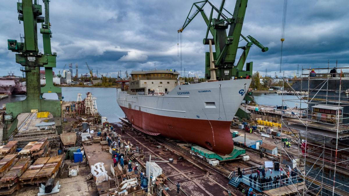 SR Nauta launched sixth ship this year (photo, video)