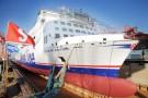 Chińska stocznia zwodowała nowoczesny prom dla Stena Line