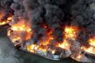 Indonezja: Ponad 30 statków zniszczonych przez ogromny pożar