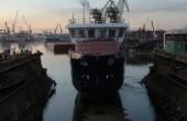 W gdańskiej stoczni Safe zwodowano statek dla Norwegów (foto, wideo)