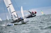 Maja Nemira i Oskar Niemira zajęli 5. miejsce w regatach Young Europeans Sailing