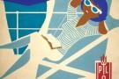 Statek z plakatu cumuje w wakacje na Helu