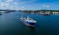 Drugi live fish carrier opuścił stocznię CRIST [foto, wideo]