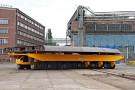Stocznia Szczecińska odebrała samojezdną platformę do transportu ładunków ponadwymiarowych (foto)