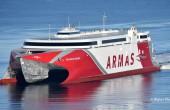 Nowy szybki prom Naviera Armas już w drodze do Hiszpanii