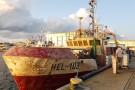 Z dna Zatoki Gdańskiej wydobyto kuter rybacki Hel-103 (foto)
