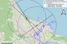 Badania wędrówek ptaków w pasie nadmorskim Gdańska (wizualizacja)
