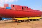 MSR Gryfia zakończyła budowę kadłuba lodołamacza czołowego dla RZGW Gdańsk (foto)