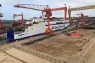 Nowoczesne promy dla Brittany Ferries coraz bliżej. Dwie ważne uroczystości w stoczni AVIC