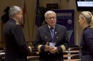 """IX Konferencja Naukowa """"Bezpieczeństwo portów morskich i lotniczych"""" na Akademii Marynarki Wojennej w Gdyni (wideo)"""