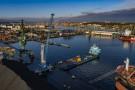 Nowy dźwig w HES Gdynia (foto, wideo)