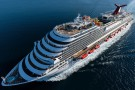Najnowszy statek Carnival Cruise Line ochrzczony (wideo)