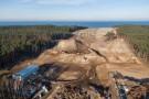 Przekop Mierzei - zobacz, co dzieje się na placu budowy (foto, wideo)