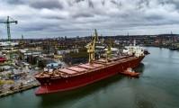 Jeden z największych masowców samowyładowczych na świecie przeszedł remont w gdańskiej stoczni Remontowa (foto, wideo)