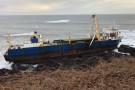 Statek widmo u wybrzeży Irlandii. Przepłynął Atlantyk bez załogi