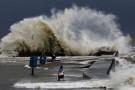 Sztorm na Bałtyku i gwałtowny wzrost poziomów wód na Wybrzeżu