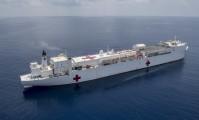 USA: Pływające szpitale wesprą walkę z COVID-19. USNS Mercy już dotarł do Los Angeles [wideo]