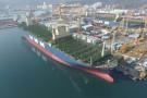 Największy kontenerowiec świata wejdzie na szlak handlowy pod koniec kwietnia