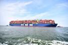 Największy na świecie kontenerowiec zawinął do Europy