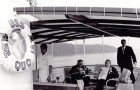 fot. Franklin Delano Roosevelt na pokładzie USS Sequoia