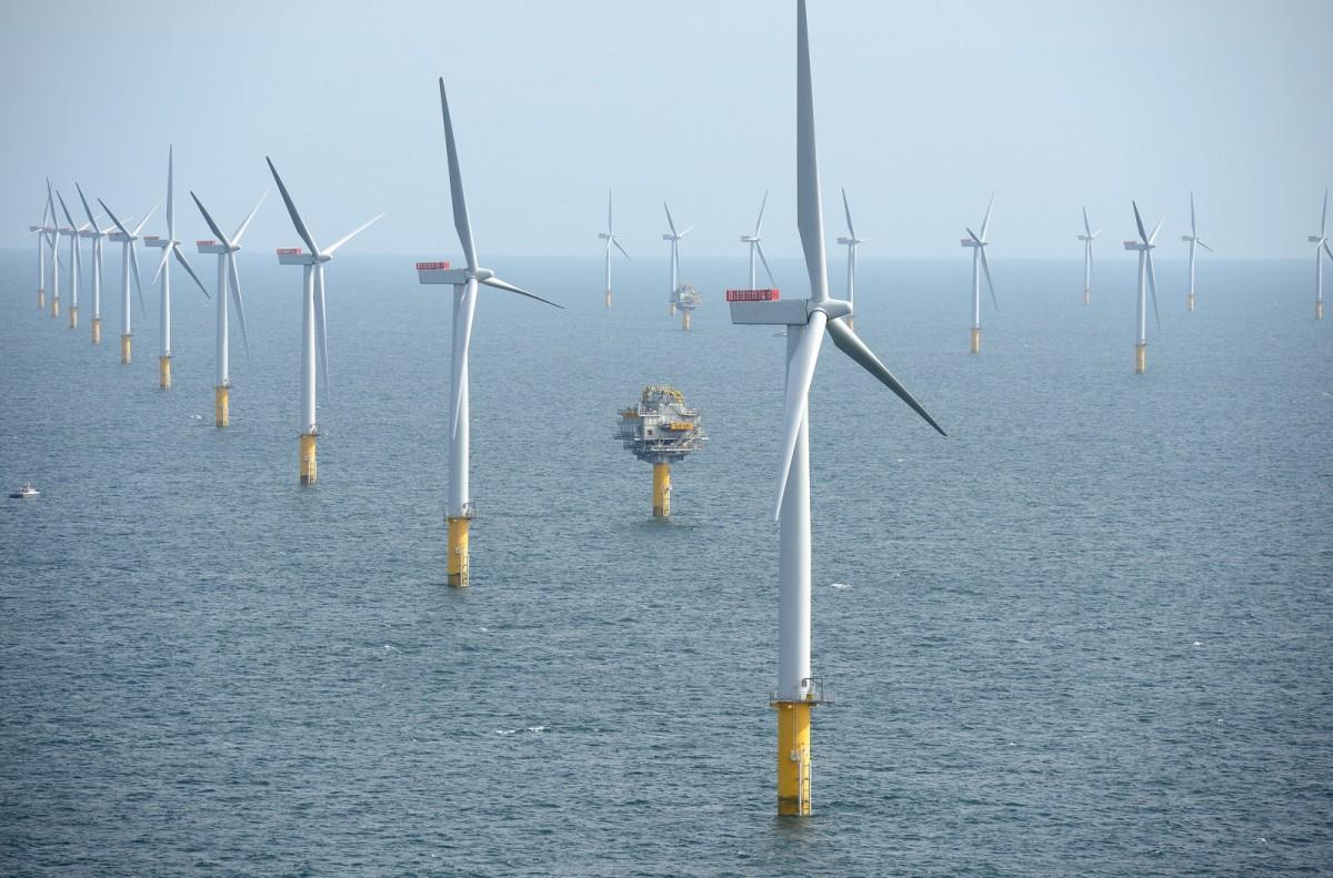 Znalezione obrazy dla zapytania farmy wiatrowe