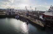 Komisja ustali przyczynę wypadku statku w gdyńskiej stoczni Nauta