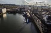 Przechył doku w stoczni Nauta – sytuacja opanowana