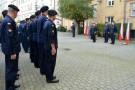 Awanse i przywitanie nowego oficera w COM-DKM