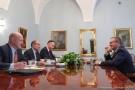 Szczerski z b. ambasadorem USA w Polsce m.in. o relacjach dwustronnych i Trójmorzu