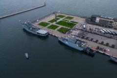 ORP Kormoran wprowadzony do służby. Macierewicz: Polska musi być silna na Bałtyku (foto, wideo)