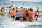 Toruń: Kąpiel morsów na zakończenie Roku Rzeki Wisły