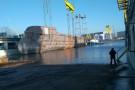 W Stoczni Szczecińskiej zwodowano megajacht (foto, wideo)