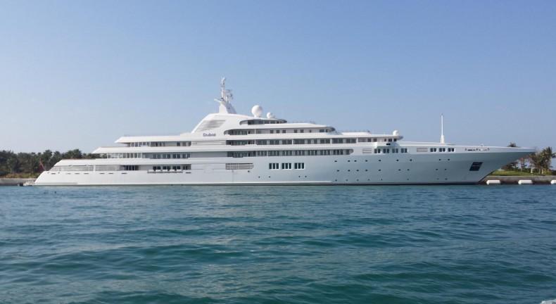 Zobacz super jacht premiera Zjednoczonych Emiratów Arabskich - GospodarkaMorska.pl