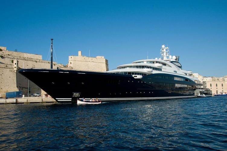 Największe jachty świata: Serene (11. miejsce) - GospodarkaMorska.pl