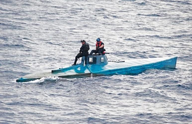 Amerykanie przejęli 7,5 ton kokainy znalezionej na łodzi podwodnej - GospodarkaMorska.pl