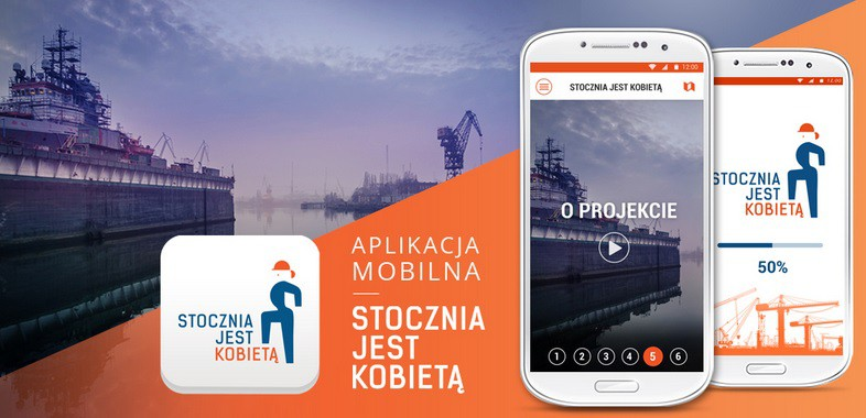 Śladami kobiet w Stoczni Gdańsk – aplikacja mobilna już dostępna - GospodarkaMorska.pl