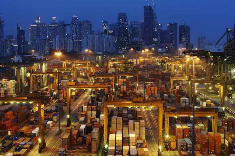 Poznajmy największe porty i terminale kontenerowe z każdego kontynentu: Azja, cz. 1 (foto) - GospodarkaMorska.pl