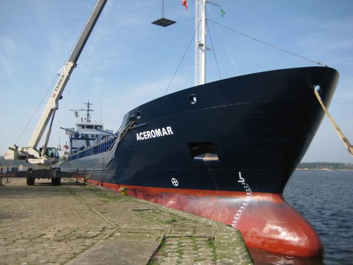 Aceromar i Faromar – bliźniacze statki w Świnoujściu - GospodarkaMorska.pl