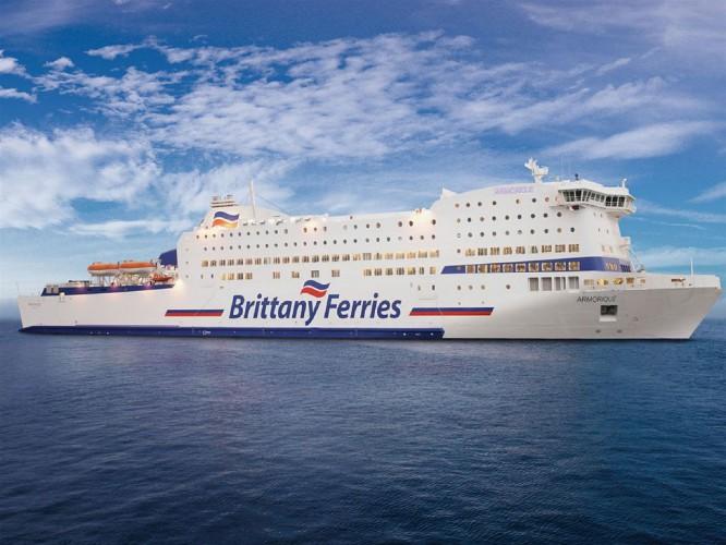 Brittany Ferries wyczarteruje prom od Stena Line - GospodarkaMorska.pl