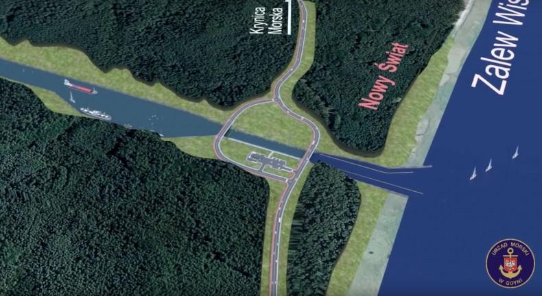 Wójt Sztutowa: kanał przez Mierzeję będzie służył także gminie i mieszkańcom - GospodarkaMorska.pl