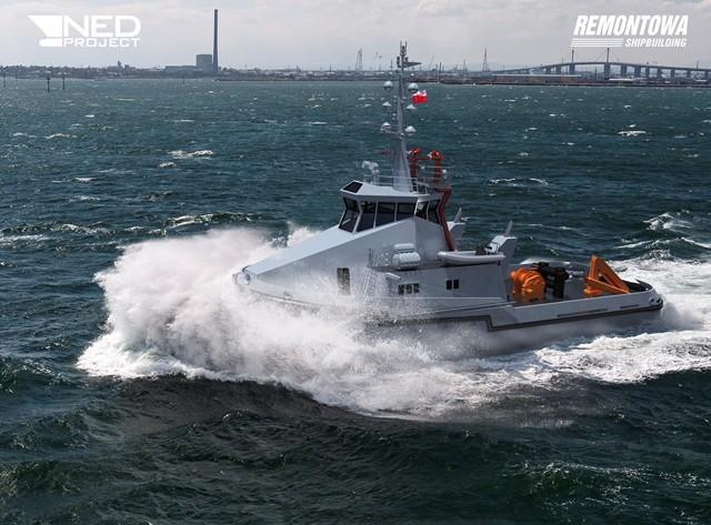 Stocznia Remontowa Shipbuilding rozpoczęła budowę 6 holowników dla Marynarki Wojennej (foto, wideo) - GospodarkaMorska.pl