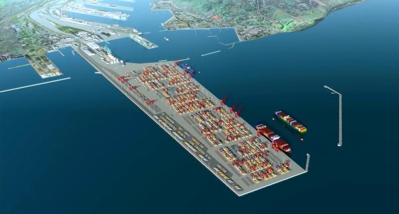 Port Zewnętrzny – klucz do sukcesu Portu Gdynia (wizualizacja) - GospodarkaMorska.pl