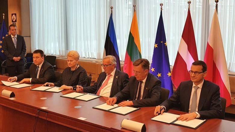 Vaicziunas: Synchronizacja państw bałtyckich przechodzi w fazę działań - GospodarkaMorska.pl