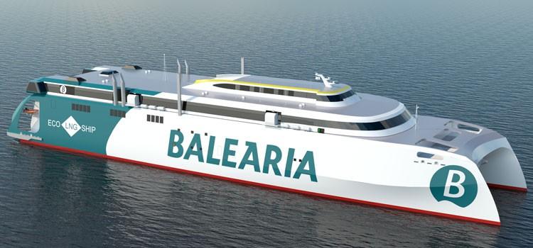 Baleària zamawia nowy prom. Pierwszy taki statek na świecie - GospodarkaMorska.pl