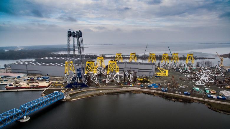 ST3 Offshore chce uczestniczyć w budowie największej na świecie morskiej farmy wiatrowej - GospodarkaMorska.pl